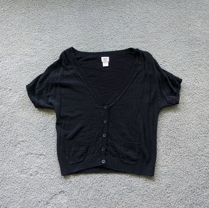 Mossimo Short Sleeved Cardigan (L)